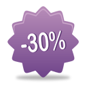 30 pourcentage off