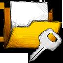folder encrypted