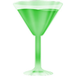 wineglass green