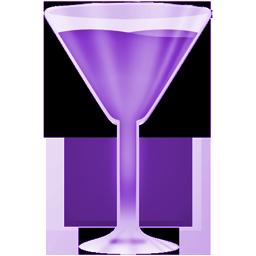 wineglass purple