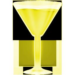 wineglass yellow