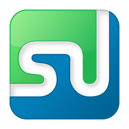 social stumbleupon box color