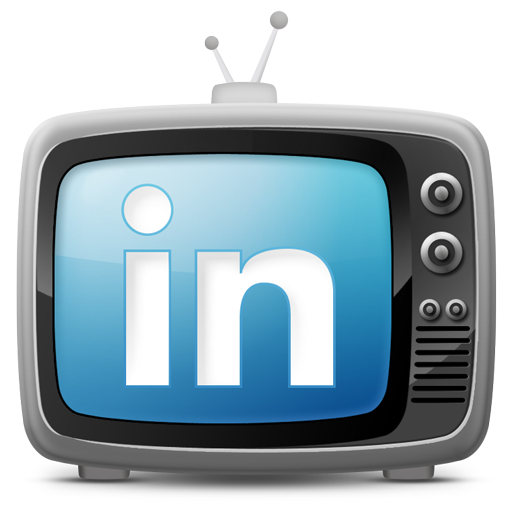 tv set icon linkedin