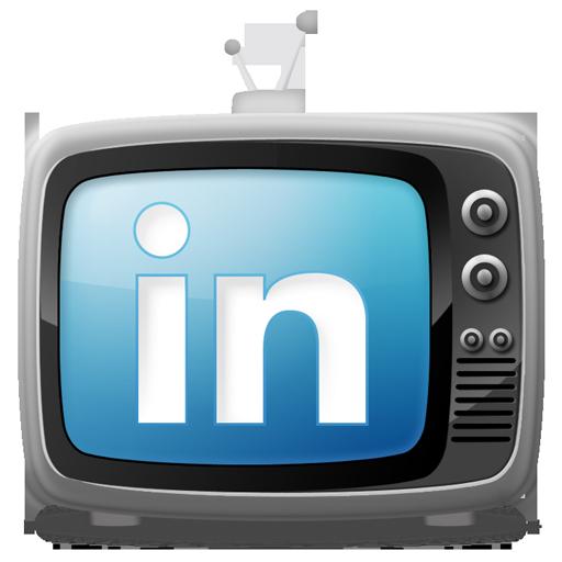 tv set icon linkedin