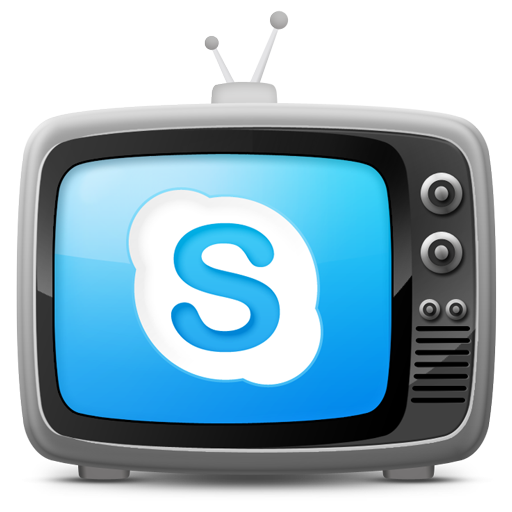 tv set icon skype