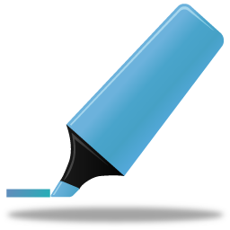 highlightmarker blue