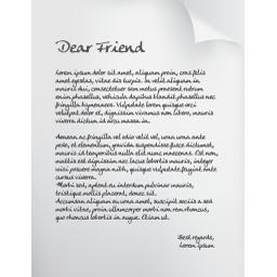 page written
