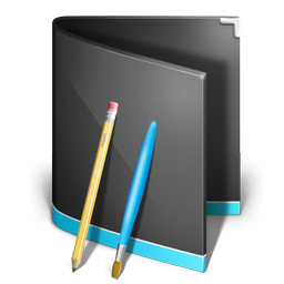 applications folder black