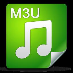 filetype m3u