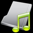 folder music lime