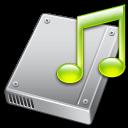 harddrive music