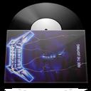 vinyl metallica