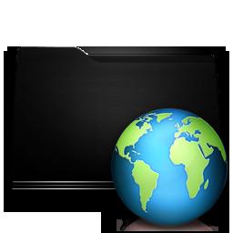 black folder web
