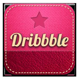 dribbble retro