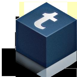cube 3d tumbrl color