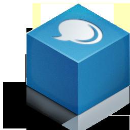 cube 3d blog color