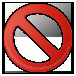Icones Sens interdit, images sens interdit png et ico