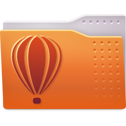 folder coreldraw