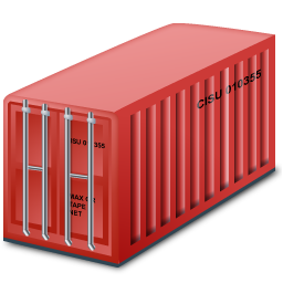 freightcontainer red