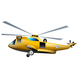 casualty helicopter