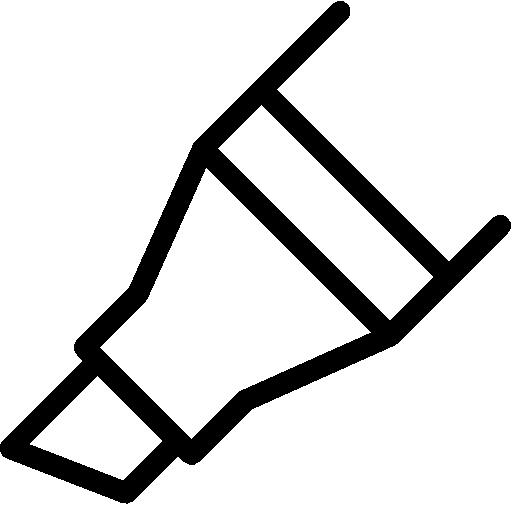chisel tip marker