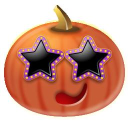 pumpkin citrouille stars