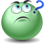 green emoticons question