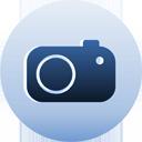 luna blue camera appareil photo