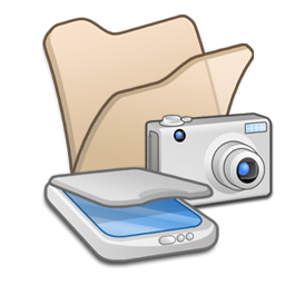 folder beige scanners cameras appareil photo
