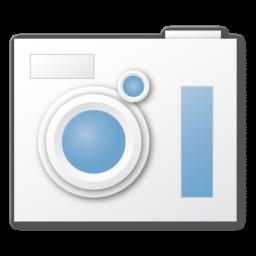 camera blue appareil photo
