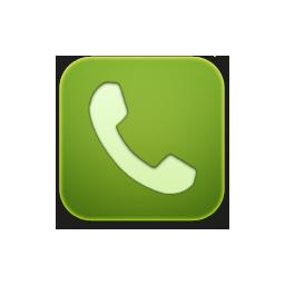 phone green telephone
