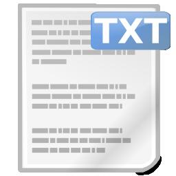 text txt