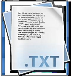 file txt