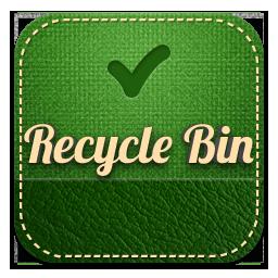 recyclebin retro