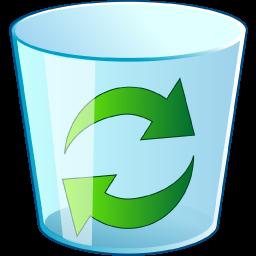 empty dustbin