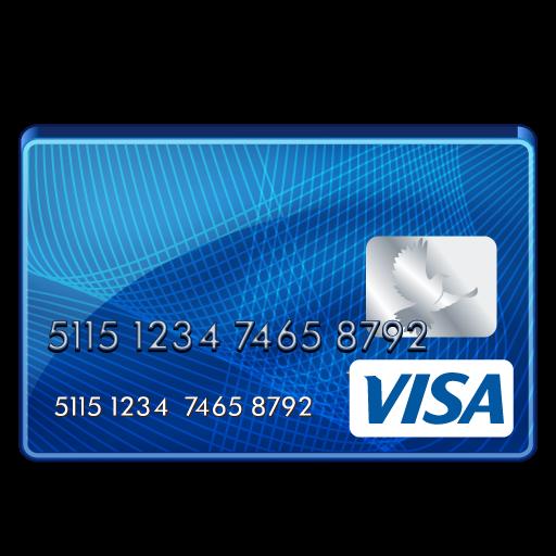 carte visa paiement