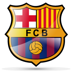 fc barcelon football logo 01