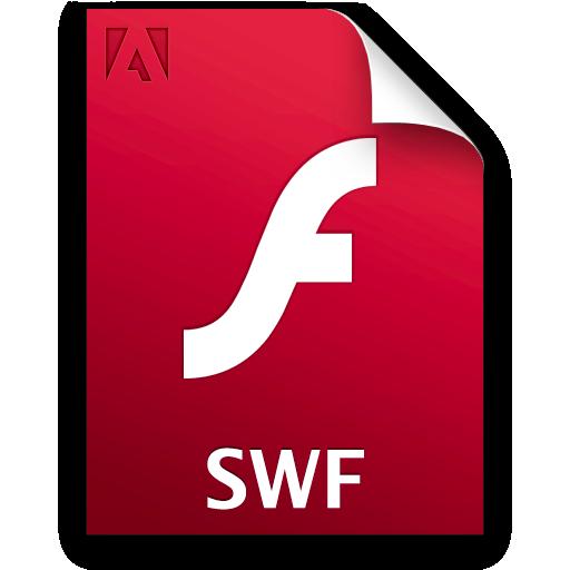 extension flash swf fla 8
