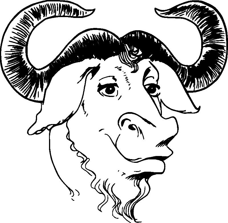 gnu logo 11