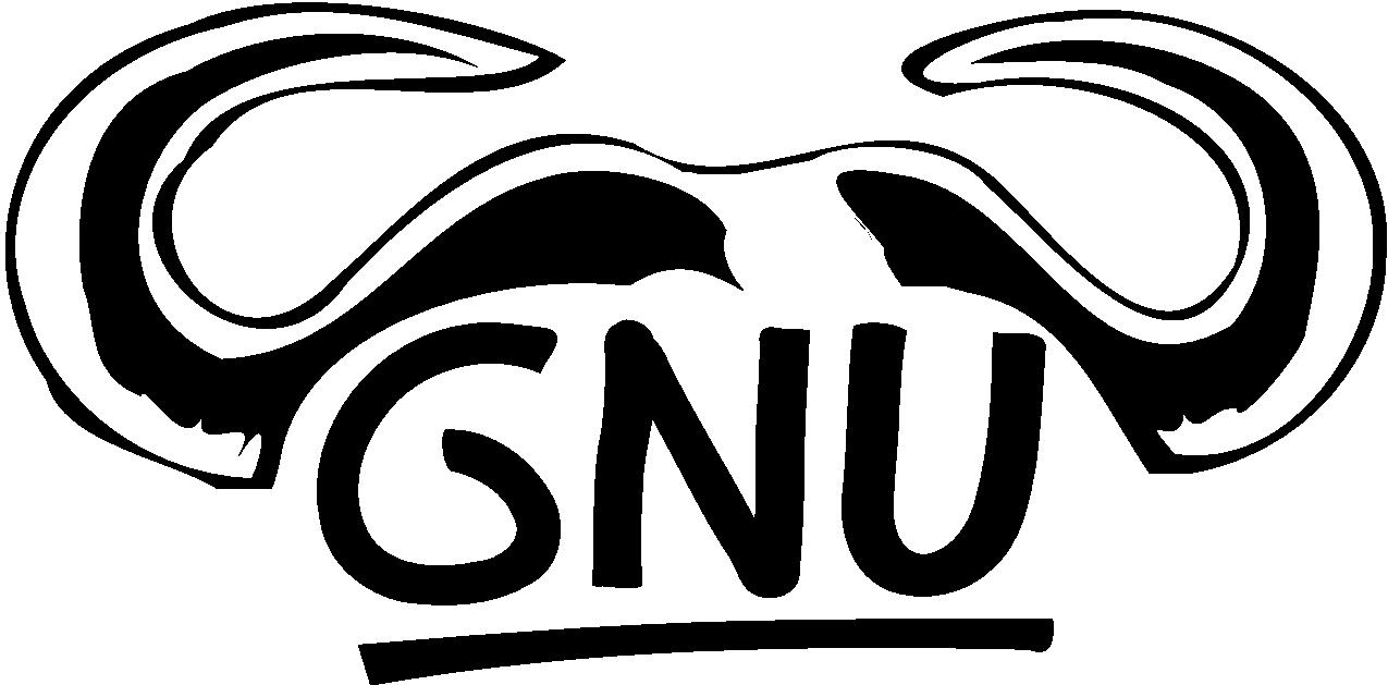 gnu logo 16