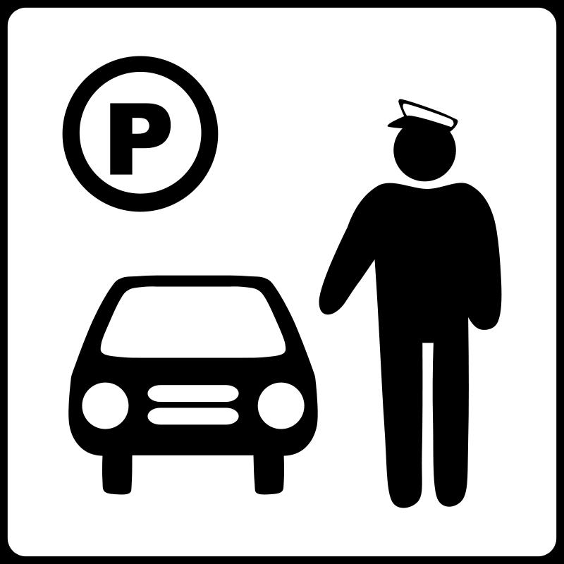 parking stationnement voitures pictogramme 2