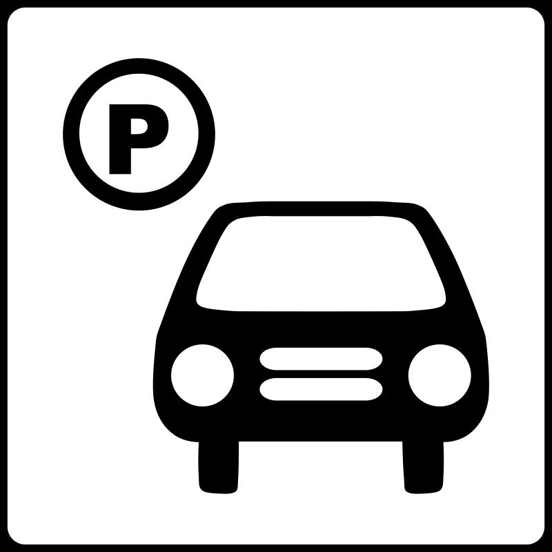 parking stationnement voitures pictogramme 1