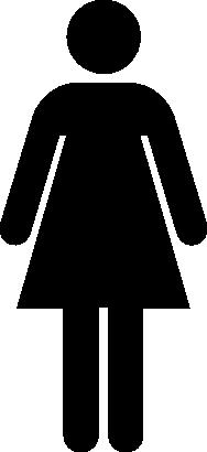 wc toillettes dame femme 0