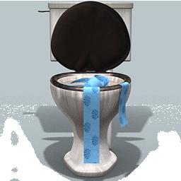 Delire dans les toilettes de l avion - 2 5