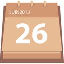 agenda calendrier 26