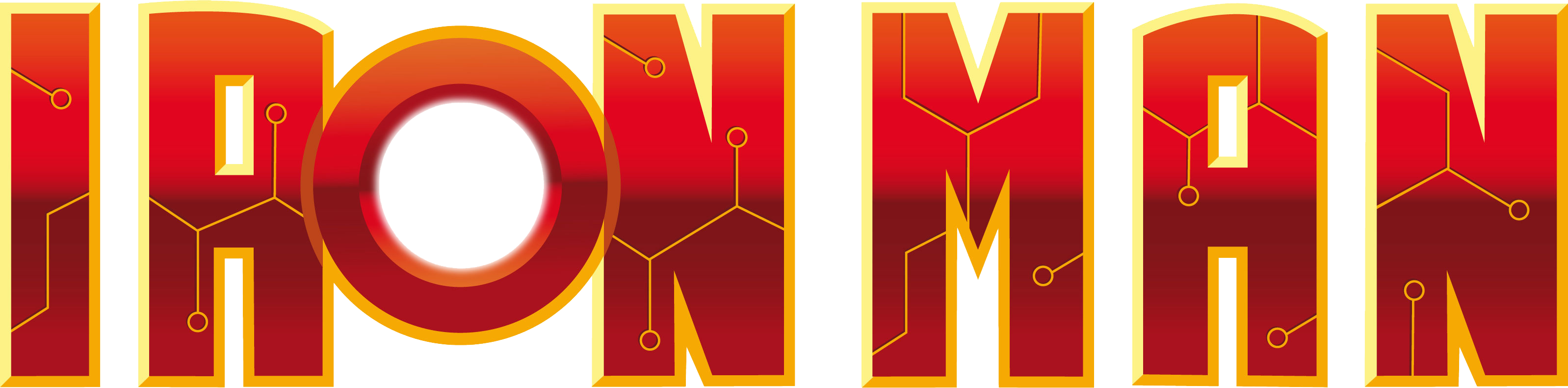 iron man logo 01