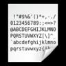 code ascii 3