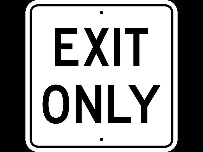 exit quitter sortir 8
