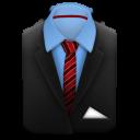 costume manager suit black tie005