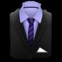 costume manager suit black tie004